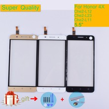 For Huawei Honor 4X Touch Che2-L12 Che2-L23 Che2-L11 Che1-L04 Che1-CL20 Touch Screen Touch Panel Sensor Digitizer Front Glass