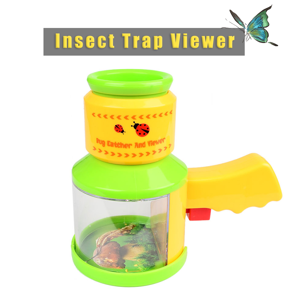 Nature Exploration Tool Children Doll Green Insect Trap Viewer Scientific Exploration Microscope Kindergarten Teaching Toy