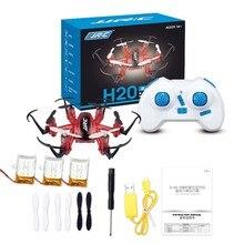 Mini Rc Drone 6 Axis Rc Dron Jjrc H20 Micro Quadcopters profesional Drones volando en helicóptero juguetes de Control remoto Nano helicópteros