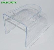 LPSECURITY rain waterproof outdoor closure cover case box for fingerprint attendance RFID access control keypad reader intercom