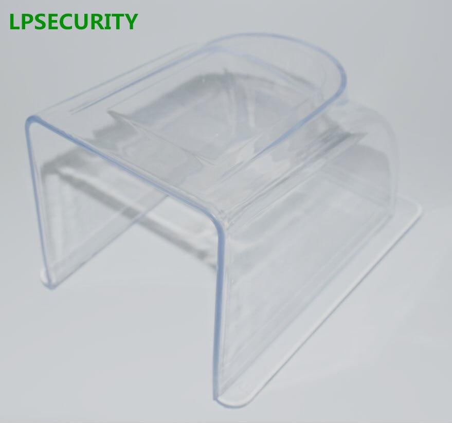 LPSECURITY pluie imperméable à l'eau en plein air fermeture boîte de cas de couverture pour présence d'empreintes digitales RFID de contrôle d'accès clavier lecteur interphone