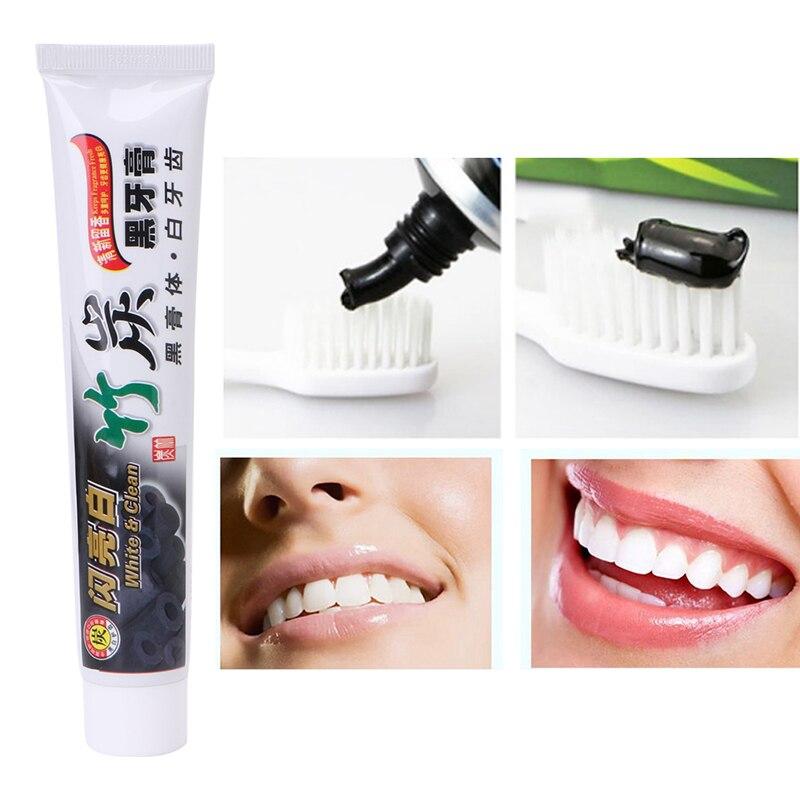 Mint Bambu Preto Carvão Creme Dental Clareamento
