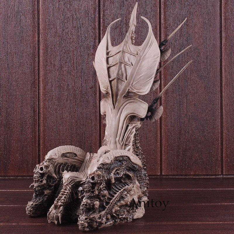 Prédateur NECA chef de Clan trône PVC prédateur Figure Action à collectionner modèle jouets 32.5 cm