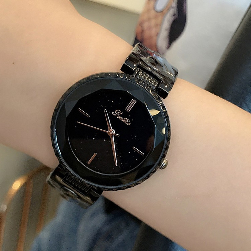 Luxury brand Lady Watch Women Rhinestone Dress Watches Fashion Stainless Steel Woman Quartz Watch New Clock Women montre femme fashion women watches women crystal stainless steel analog quartz wrist watch bracelet luxury brand female montre femme hotting