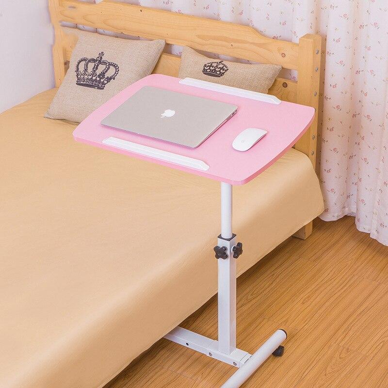 9% Simple paresseux PC Table rotatif bureau d'ordinateur portable pour lit canapé Table de chevet polyvalente hauteur réglable bureau d'écriture pour étudiant