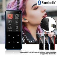 Binjie K11 2.4 Inch 8GB Bluetooth Aluminum Alloy Touch Screen mini usb Player MP3 Player with Buil