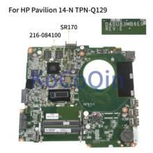 KoCoQin материнская плата для ноутбука HP Pavilion 14-N TPN-Q129 Core I5-4200U 14'6 дюймов материнская плата DA0U83MB6E0 SR170 216-0841009 Оперативная память