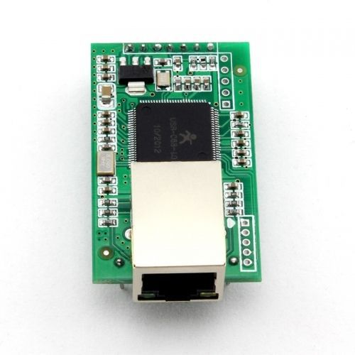 Q00226 USR-TCP232-E2 Pin Type Serial UART TTL to LAN Ethernet Module---2 serial ports ttl turn rs485 module 485 to serial uart level mutual conversion hardware automatic flow control