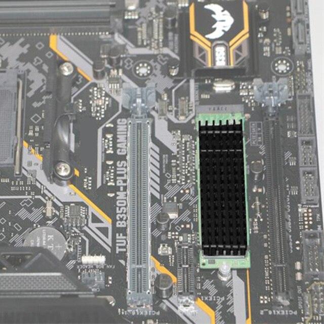 Heatsink Heat Dissipation Radiator M.2 NGFF Cooling Heat Sink Heat Thermal Pads for M.2 NGFF 2280 PCI-E NVME SSD 5