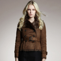 Women Faux Fur Faux Leather Short Jacket For Women In The Warm Coat Suede Jacket S