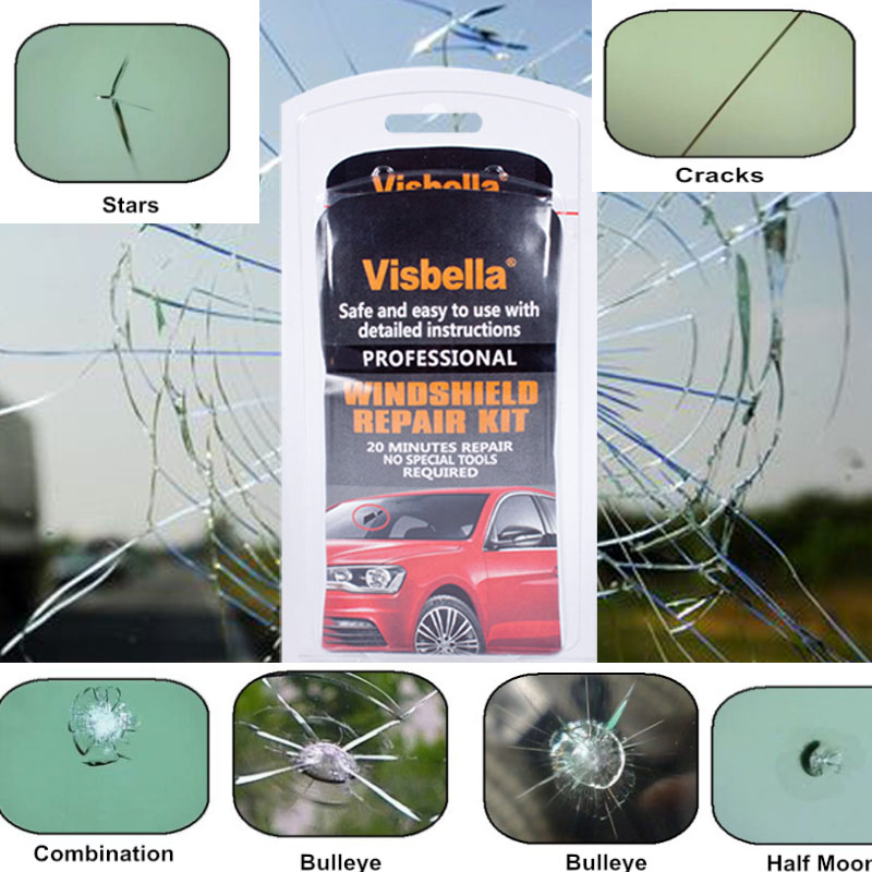 DIY Car Window Repair Tools Windshield Glass Scratch restoration Kits Windscreen Crack R ...