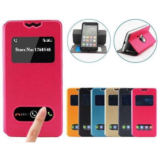Fly IQ4490i Case, High End Flip PU Leather Phone Case Back Cover for Fly IQ 4490i Era Nano 10 Free Shipping
