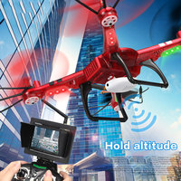 Wltoys RC Drone Quadcopter Dron with Camera HD Wifi FPV Quadrocopter 2.4G 6Axis Remote Control Helicopter Toys For Christma Gift