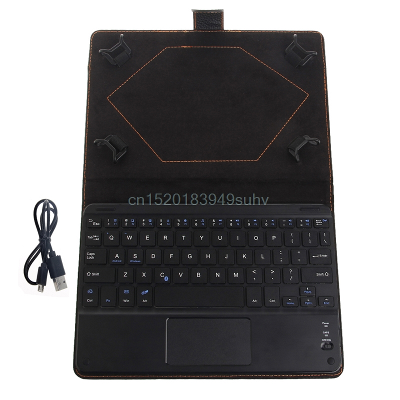 Bluetooth Wireless Keyboard Cover Case with Touchpad for 8 to 8.9 Inch Tablet PC #L059# new hot neworig keyboard bezel palmrest cover lenovo thinkpad t540p w54 touchpad without fingerprint 04x5544