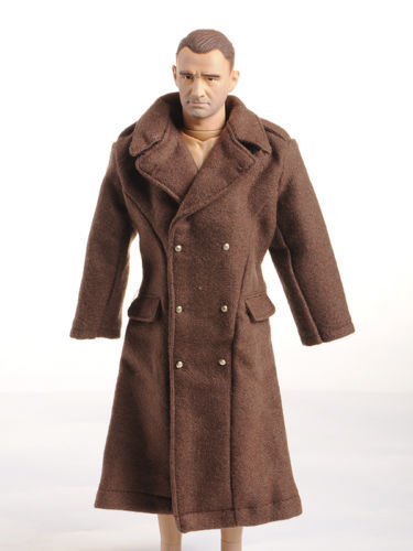 1/6 Male Figure Accessory Dragon WWII US Army Soldier Brown Overcoat Topcoat Man Clothing For Military 12 Action Figure Toys dragon футболка dragon claim it tee f10 brown