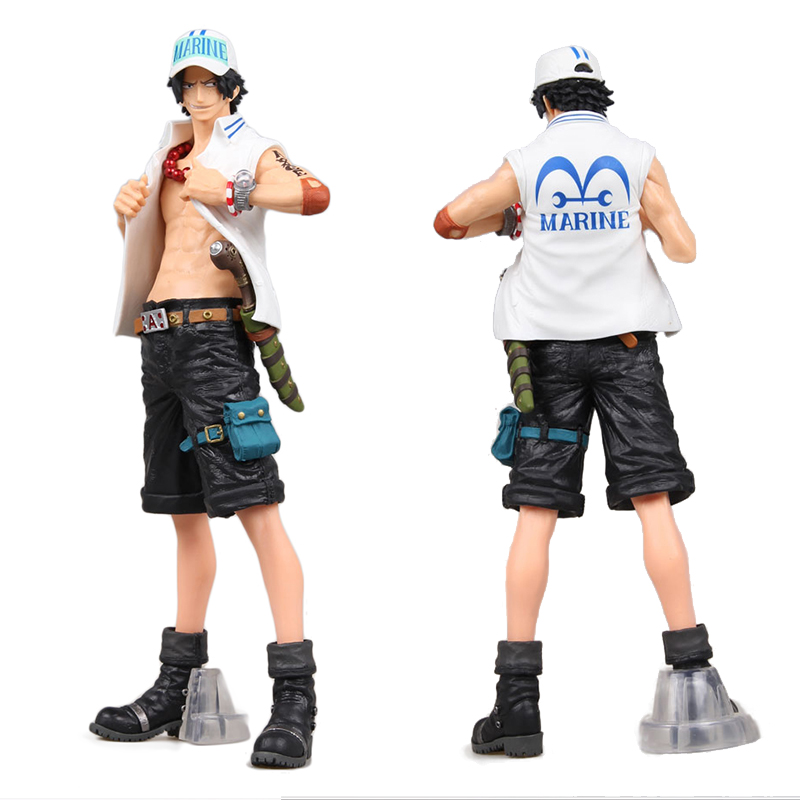 Hot King of Artist Fire Fist The Portgas D Ace Comic Anime One Piece Luffy's Brother Huge 26cm Figure Toys J01
