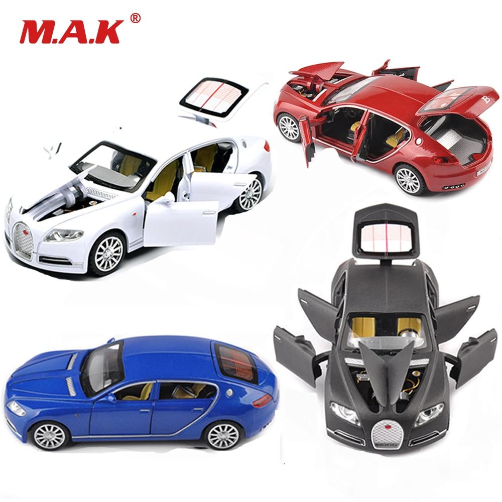 1/32 Bugatti Veyron 16C Galibier Diecast Metal Model Cars Alloy Electronic Car Toys Birthday Christmas Gift For Boys Kids toys