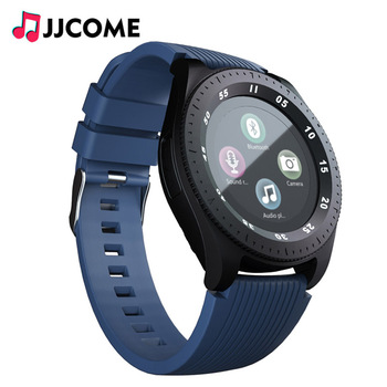e2ac948e1443 Reloj inteligente bluetooth hombres mujeres banda con tarjeta sim Cámara  del deporte Cámara de Whatsapp Facebook PK V8 Q9 Y5 A1 para xiaomi android  ...