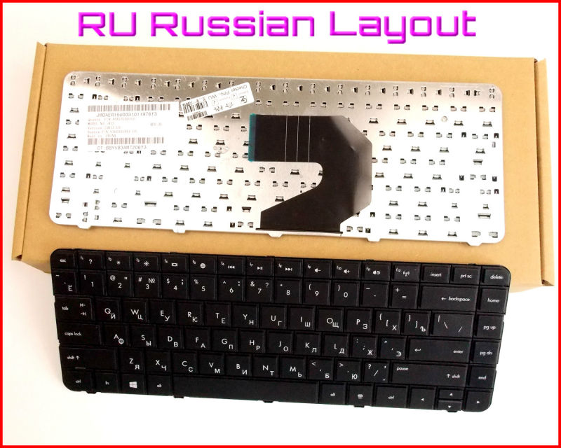 New Keyboard RU Russian Version For HP CQ43 CQ57 CQ58 697529-001 Laptop