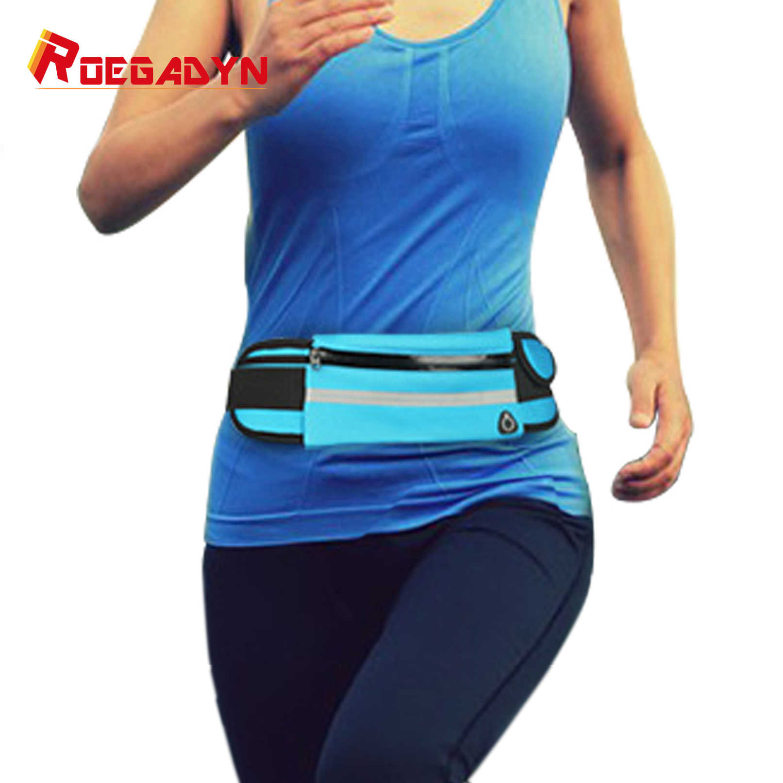 Men Women Fitness Fanny Packs Pouch Mobile Phone Holder Jogging Sports Running Waist Water Bag