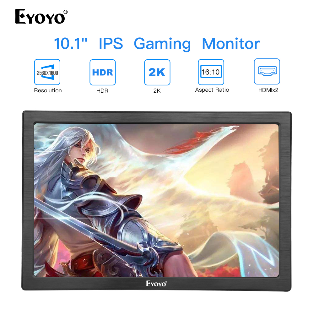 Thin portable lcd hd monitor 10 usb IPS hdmi for raspberry pc 3 laptop phone xbox pantalla ps4 gaming