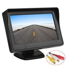 Venta 4.3 Pulgadas a Color TFT LCD Monitor Del Coche 480×272 Panel Digital con $ number Canales de Entrada de Vídeo Para Cámara de Visión Trasera O DVD GPS