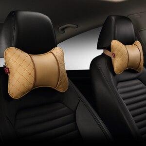 Image 2 - รถ Headrest คอหมอน Four รถที่นั่ง Headrest หมอนคอป้องกันหมอนบน