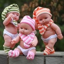 Hablando juguete del bebé muñecas suaves de silicona renacer muñecas En el agua para el baño del bebé de Los Niños juguetes educativos para niños regalo