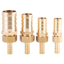 4 Size 8mm-14/16/19/25mm Brass Fitting Hose Barb Tail Reducer Reducing Plug Connector Adapter 100% Brand New And High Quality(China)