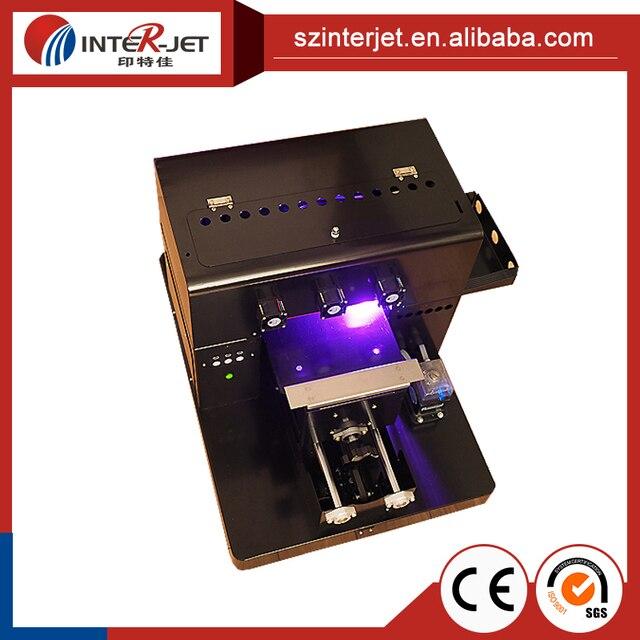A4 Taille UV Imprimante Pour TPU Telephone Cas Carte De Visite En Plastique Etc