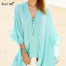 Solid Color Tassel Female Cardigan Loose Beach Cover Up Women's Tunic Drawstring Beachwear Cover-Ups Summer Clothes for Women