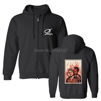 Get Behind Me Satan Hoodies Fashion Retro Men Cool Cotton Sweatshirt Coat Hip Hop Tops Harajuku Streetwear