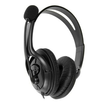 USB Wired Over-Head Gaming Headset Stereo Noise Cancelling Headphones With Microphone For Sony PS4 Game Console PC Computer