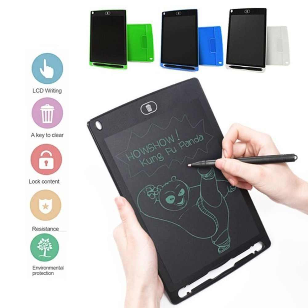 การเขียนแท็บเล็ต 8.5 นิ้ว Notepad ดิจิตอล LCD กราฟิก BOARD Handwriting Bulletin Board สำหรับการศึกษาธุรกิจ