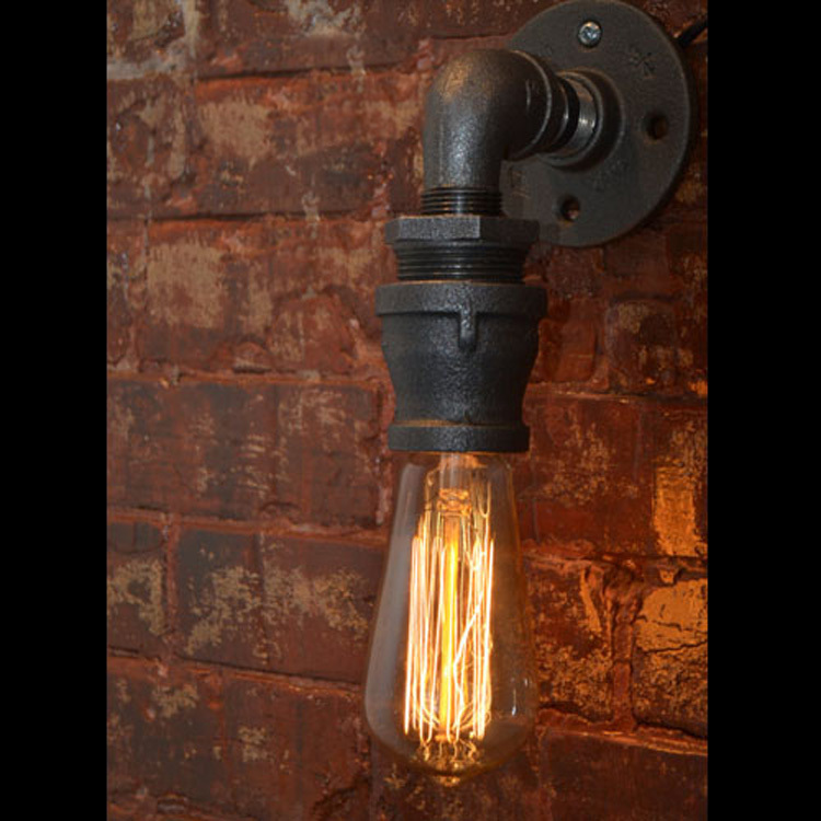 Vintage Nostalgic Re Water Pipe Edison Wall Sconce Lamp Restaurant Hotel Bar Stair Home Decor