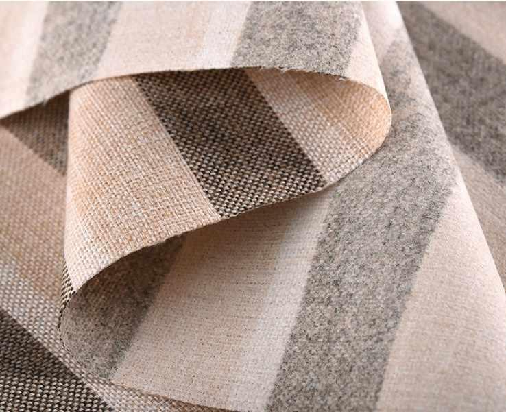"""Beschichtete Leinen Stoff Sofa Kissen stoff DIY Handwerk Nähen Tuch Outdoor Leinen Mischung Stoff Polster 59 """"breite"""