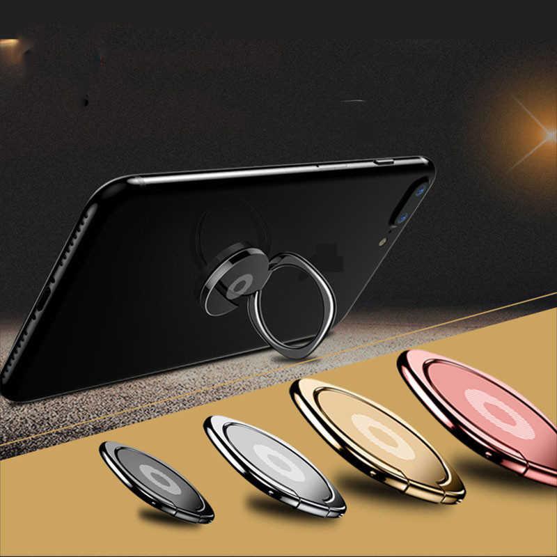360 stopni palec na telefon komórkowy, z pierścieniem stojak na smartfona do IPhone 8 IPad Xiaomi wszystkie inteligentne telefony luksusowe modele do pary