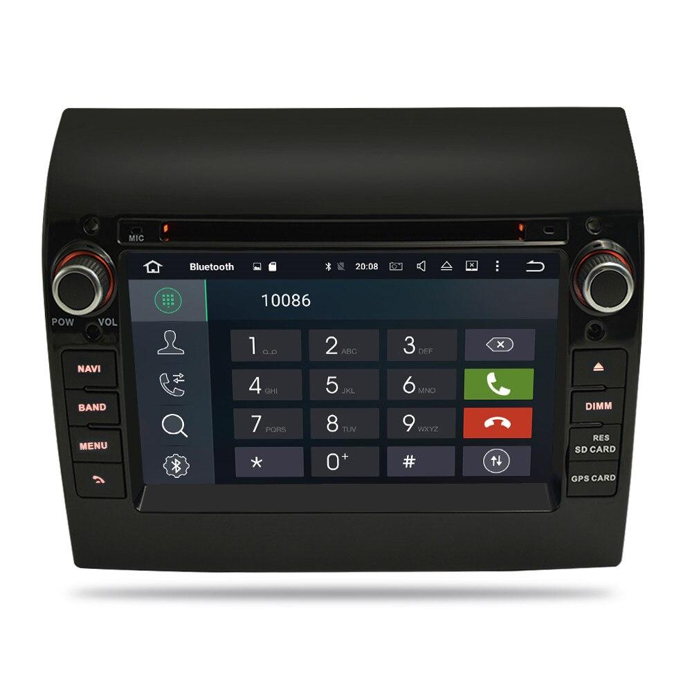 4G RAM Android 9.0 Car Radio DVD Player GPS Multimedia Stereo For Fiat Ducato 2008-2015 Citroen Jumper Peugeot Boxer Navigation
