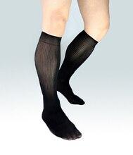 2016 Mens de la manera calcetines de Seda vestido de traje formal manguera Sexy sheer media de Hombre Gay fetiche Colección harajuku calcetines de Negocios hombres