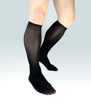 2017 fashion Mens Silk socks formal suit dress hose Sexy sheer Man stocking Gay harajuku Collection fetish Business socks men
