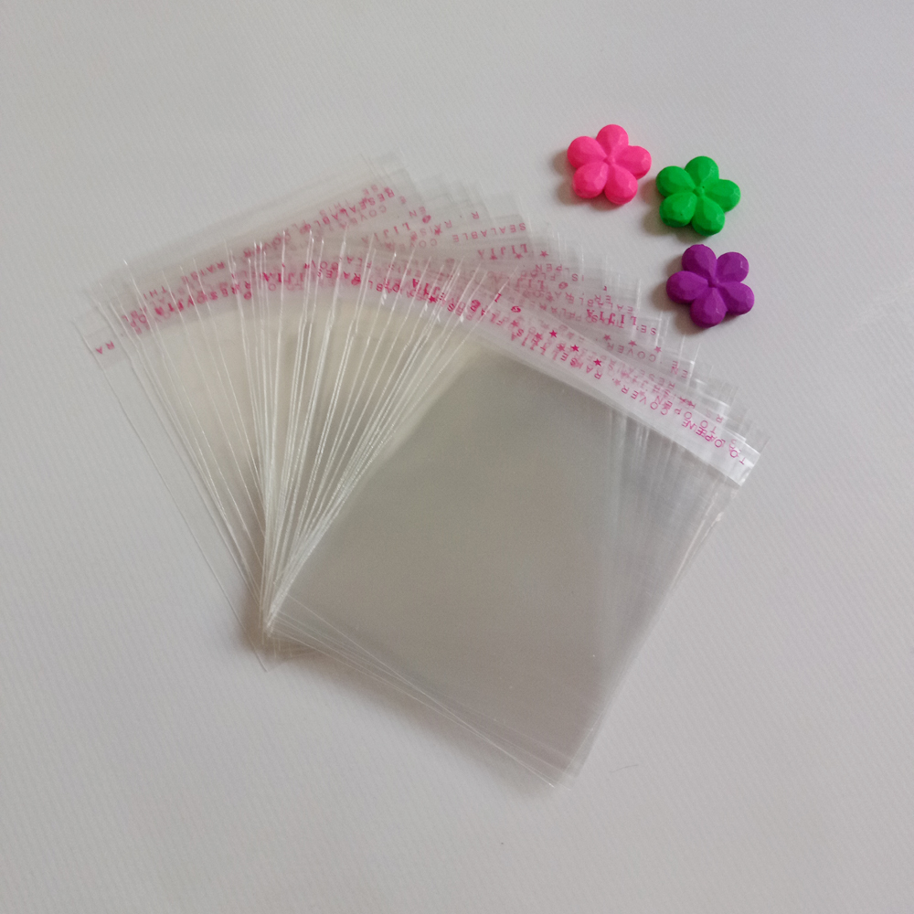 5000pcs Opp Bag Self Adhesive Clear Transparent Bags For Women/cloth/gift/Jewelry Pouches Small Plastic Bags Display Packing Bag