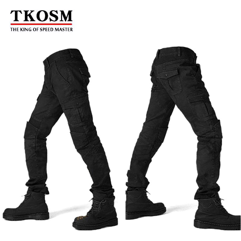 TKOSM 2018 MOTORPOOL UBS06 Motocross Pants Motorcycle Men s off road Outdoor Jeans Cycling Pant With
