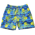 New Arrival 2017 summer fashion boys shorts cartoon octopus print children boys board shorts casual boys beach shorts 3 colors
