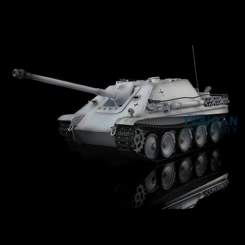 1/16 Scale HengLong Plastic Version Winter Snow German Cheetah RC RTR Tank 3869 mantra 3869