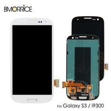 AMOLED For SAMSUNG Galaxy S3 i9300 i9300i i9301 i9301i i9305 LCD Display Touch Screen Digitizer Super OLED Replacement 4.8''