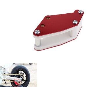 Image 3 - 1 Pcs Red Guard Chain Guide Slider For Honda XR50 CRF50 CRF70 90cc 110cc 125cc Pit Dirt Bike Etc 145mm