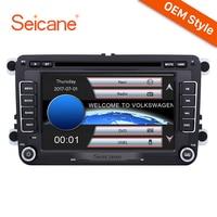 Seicane WinCE 6,0 2Din 7 стерео радио gps навигации мультимедийный плеер для VW Golf T5 Jetta Skoda Octavia йети Поло Tiguan