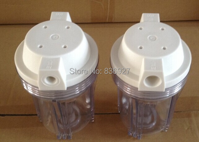 RO Water purifier parts transparent housing 5 inches 1/2