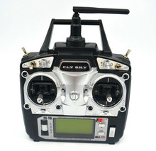 Flysky FS-T6 FS T6 6ch 2.4G w/ LCD Screen Transmitter + FS R6B Receiver For Helicopter Plane