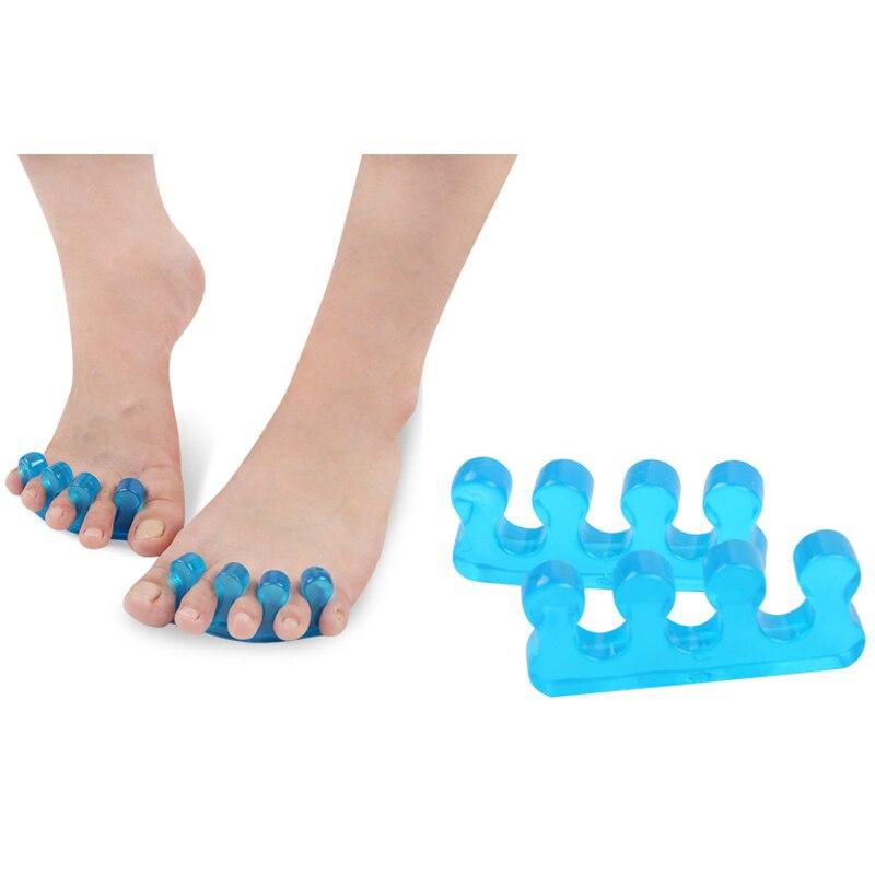 1Pair Toe Separators Gel Toe Separator & Toe Stretcher for Yoga Walking and Dancing for Women and Men 4